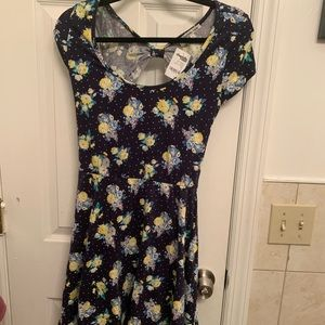 Mini Dress with short sleeve Dress
